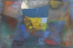 Miriam Bromberg Cubist Abstract I Oil On Canvas