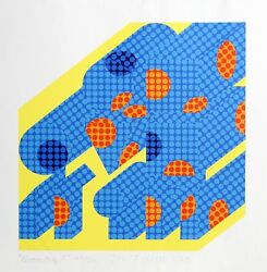 Joe Tilson Geometry Screenprint Signed And Numbered In Pencil