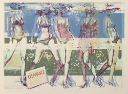 John Hardy, Summer Clearance, Lithograph, Signed And Numbered In Pencil