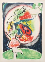 Juan Garcia Ripolles Kissing Couple Lithograph Signed In Pencil
