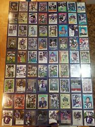 Huge Lot Of 216 Signed Auto Minnesota Vikings Football Cards From All Eras