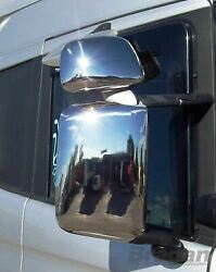 To Fit Scania P G R 6 Series Side Mirror Covers Set Of 4 Truck Stainless - Lhd