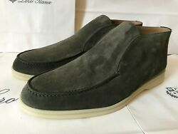 Loro Piana Open Walk Fab4368 Suede Loafer Size Us 8.5 /eu 42.5 Made In Italy