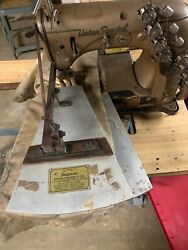 Union Special 51400 With Puller Tucking Machine Head Only 3 Needles 3/4andnbspandnbspspacing