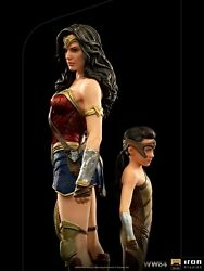 Iron Studios Dccw8433120-10 1/10 Ww84 Wonder Woman And Young Diana Figure Statue