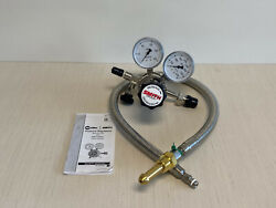 Miller 223-41-09 Silverline High Purity Analytical Two Stage Regulator 150 Psi
