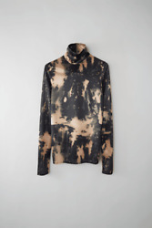 Acne Studios   Eryn Tie-dye Jersey Top   Graphic Print   Size S   New With Tags
