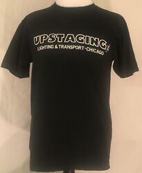 The Cure 2004 The Curiosa Festival Tour Upstaging Crew Shirt Size Large