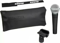 Shure Sm58 Professional Cardioid Dynamic Live Performance Vocal Microphone