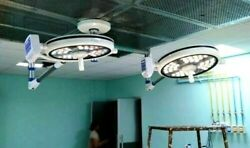 Dual Surgery Light Examination And Surgical Operating Light Operation Theater Lamp
