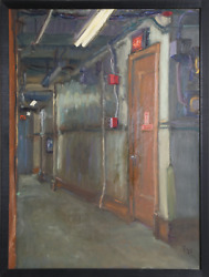 Paly Emergency Exit Oil On Canvas