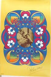 Peter Max Flapper Poster Signed In Ink
