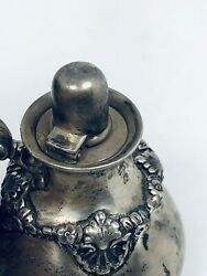 And Co Antique Sterling Silver Very Rare Wicked Light C Date Mark