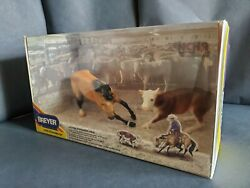 New Breyer 3297 Cutting Horse and Cow