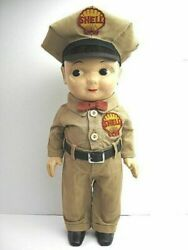 1950's Buddy Lee Shell Toy Esso Hdle Vintage Doll Ems