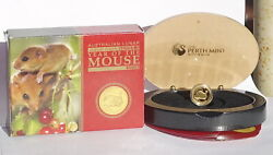 2008 Australia Lunar Ii Year Of The Mouse Rat 15 1/10 Oz Gold Proof Coin Rare