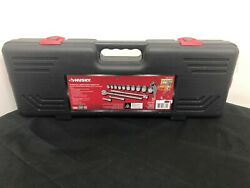 Husky H34d14sws 3/4 In. Drive Ratchet And Sae Socket Set 14-piece Read Descr
