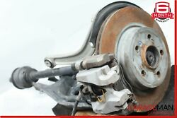10-13 Mercedes W207 E350 Rear Right Spindle Knuckle Brake Rotor Caliper Set Oem