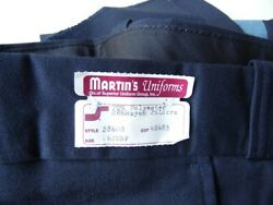 700+ Pair Of New Uniform Pants Navy With Blue Stripe Men's And Women's
