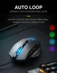 Gaming Mouse Optical 4000dpi Led Lighting