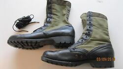 Us Vietnam Jungle Boots 2nd Pattern C.i.c. 11 R Dated 8/64