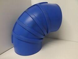 Shields 8 Inch Silicone 90 Degree Elbow Wet Exhaust Coupler 290-s8000