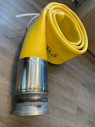 5 X10' Tpu Flexible Lay Flat Concrete Pumping Hose 1233psi Icf Forms Exclusive
