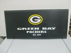 Green Bay Packers Sport Nfl Home Decor Collectibles Wall Plaque Painting Art
