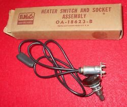 1950 1951 Ford Custom Deluxe Crestliner Victoria Nos Heater Switch And Socket