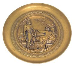 Gilt Bronze Tazza Depicting Herodios After Emile Picault 1833-1915