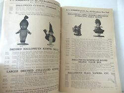 Wholesale Trade Catalogue 1927-28. E.sommer's And Co. Ny. Dolls-toys Etc 136pg