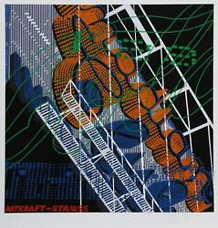 Jon Dand039orazio Canadian Club Screenprint Signed And Numbered In Pencil