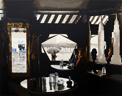 Harry Mccormick, Empire Diner, Screenprint, Signed And Numbered In Pencil