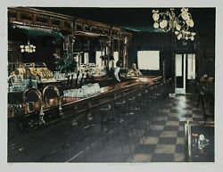 Harry Mccormick, Harvey's Chelsea Restaurant, Screenprint, Signed And Numbered I