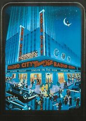 Melanie Taylor Kent, Radio City Music Hall, Screenprint, Signed And Numbered In