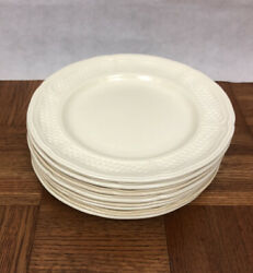 8 Gien Pont Aux Choux Dinner Plates Made In France Cream Color Discontinued