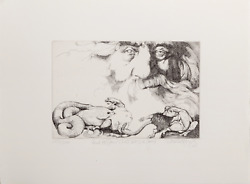 Charles Bragg And He Saw That It Was Good Etching Signed Numbered And Title