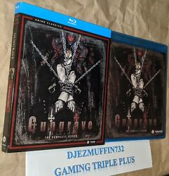 Used Gungrave Complete Series Blu-ray + Slip Cover Funimation 3 Discs