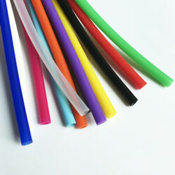 Imported Silicone Tube 1-25mm Inner Dia Food Grade Heat-resistant Multicolor