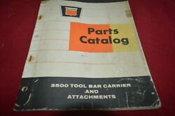 Oliver Tractor 3500 Tool Bar Carrier Book Manual Tbpa