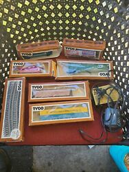 Vintage Tyco Ho Electric Trains,tracks Power Pack All Pre Owned Untested