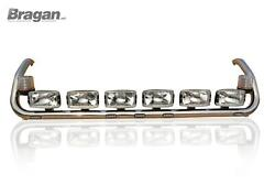 To Fit Scania 4 Series Topline Roof Light Bar + Leds + Rugby Ball X6 + Beacon X2