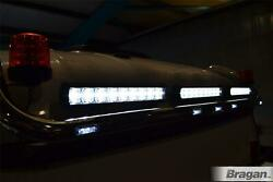 To Fit Pre 09 Scania P G R Series Day Black Roof Light Bar + Led + Led Spot Bars