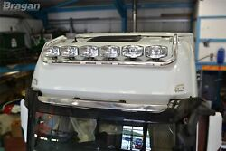 To Fit Mercedes Actros Mp4 Big Space Drop Down Roof Bar B + Round Spot Lamps