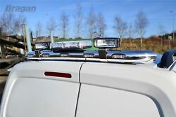 To Fit 02-14 Ford Transit Tourneo Connect Van Rear Roof Light Bar + Led + Spots