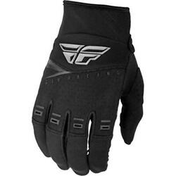 Fly Racing 2019 Youth F-16 Gloves Size 2xsmall All Black 372-91702