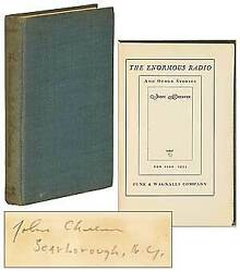 John Cheever / The Enormous Radio And Other Stories Signed 1st Edition 1953