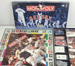 1918-2004 Red Sox Edition Monopoly World Series Champions New Open Box