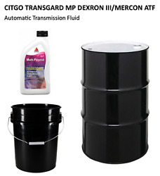 Citgo Mp Dexron Iii / Mercon Atf 4 Or 12 Qt Bottles, 5 Gal Pail Or 55 Gal Drum