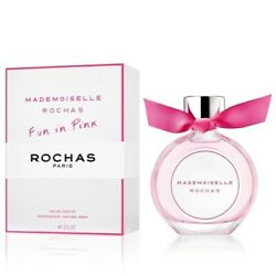 Mademoiselle By Rochas For Women-edt-spray-3.0 Oz-90 Ml-authentic-france